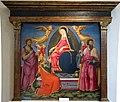 Neri di bicci, madonna della cintola e santi, 1470-75 ca. da pieve di corazzano 01.JPG