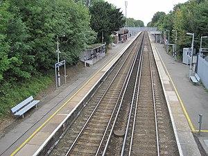 New Eltham railway station - Image: New Eltham railway station, Greater London (geograph 3682391)