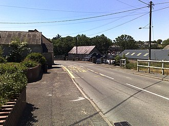 New Inn, Carmarthenshire - Image: New Inn Carmarthenshire