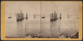 New York Harbor. Vessels becalmed, by Soule, John P., 1827-1904.png