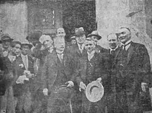 Kingdom of Serbs, Croats and Slovenes parliamentary election, 1927 - New members of parliament after swearing Oath.