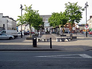 Newcastle West Town in Munster, Ireland