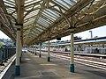 Newport - Station platform canopy - geograph.org.uk - 1343162.jpg