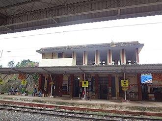 Neyyattinkara railway station - Neyyattinkara station building