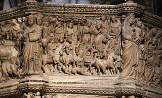 Adoration of the Magi (pulpit relief)