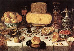 Nicolaes Gillis - Still life, 1611