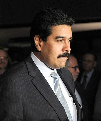 President of the National Assembly of Venezuela - Image: Nicolas Maduro in Brasilia