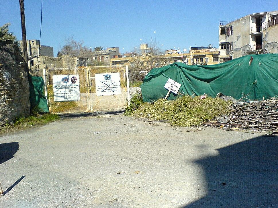 Nicosia UN buffer zone02