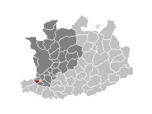 Niel, Belgium - Image: Niel Locatie