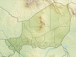 Aïr Mountains is located in Niger