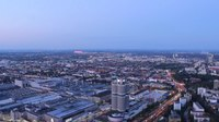 Файл:Nightfall timelapse from Olympiaturm.ogv