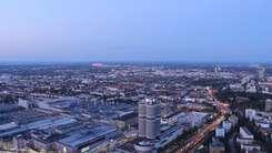 Податотека:Nightfall timelapse from Olympiaturm.ogv