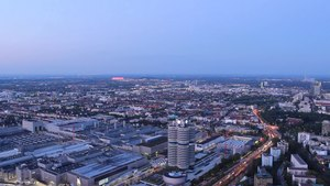 File:Nightfall timelapse from Olympiaturm.ogv