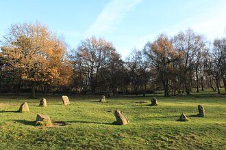 Nine Ladies - The Nine Ladies stone circle