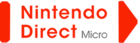 Nintendo Direct Micro presentation logo