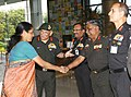 Nirmala Sitharaman with Army commanders.jpg