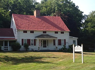 Rocky Point, New York - The c. 1721 Noah Hallock homestead, the oldest extant structure in Rocky Point