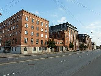 Amerika Plads - The Nordisk Fjer building