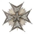 Nordstjärneorden storkorskraschan, 1951 - Livrustkammaren - 98915.tif