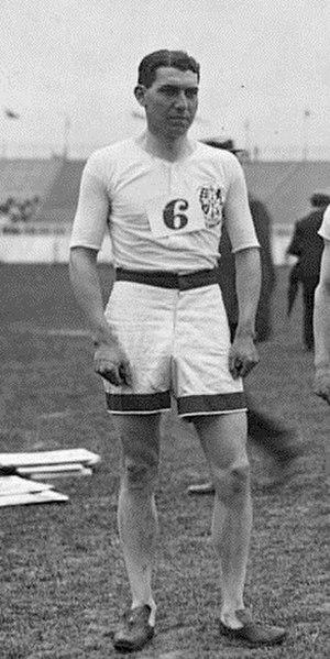 Norman Hallows - Norman Hallows at the 1908 Olympics