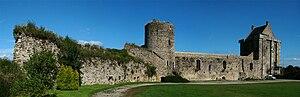Saint-Sauveur-le-Vicomte - The fortress