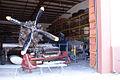 North American NA-16 Douglas A-26B Invader Grumman F7F-3 Tigercat Mikoyan-Guerevich MiG-15bis Fagot Storage FOF 14Dec09 (14567547376).jpg