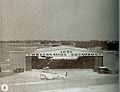 North American O-47 - 105th Observation Squadron hangar at Berry Field.jpg