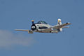 North American T-28C Trojan Sherry Berry Enemy Forces Suppression Pass 02 TICO 13March2010 (14412928219).jpg