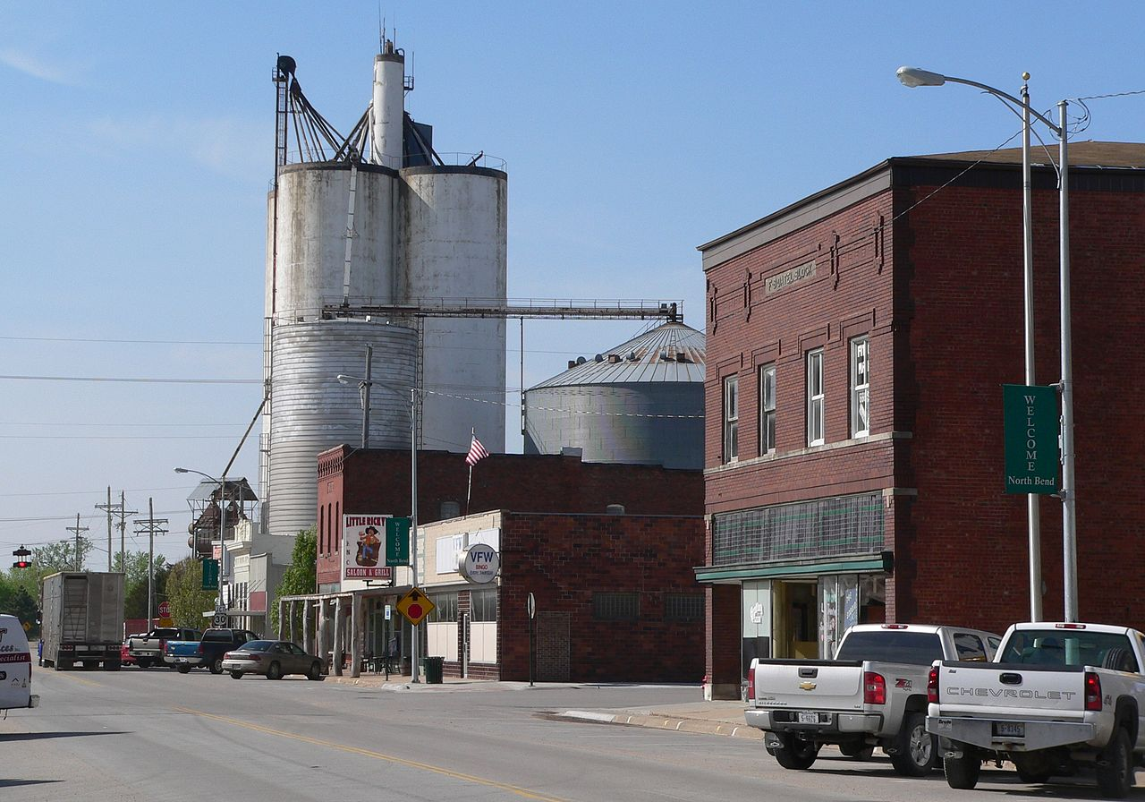 File North Bend  Nebraska Main Street 2 Jpg