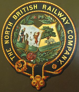 North British Railway - Image: North British Railway Coat of Arms