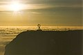 North Cape globus, the see covered with clouds - panoramio.jpg