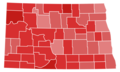 North Dakota Senate Election Results by County, 1952.png