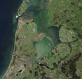 North Holland with parts of Friesland and Flevoland by Sentinel-2.jpg