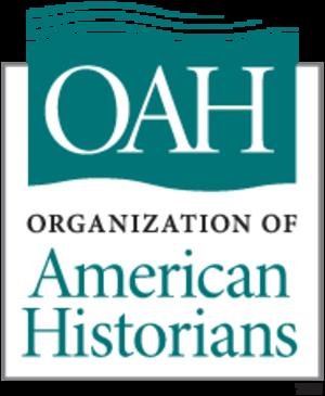 Organization of American Historians - The logo for the Organization of American Historians.