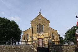 Oches - l'Église Saint Lambert - Photo Francis Neuvens lesardennesvuesdusol.fotoloft.fr.JPG