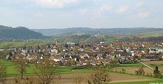 Offenau - Offenau from South-West