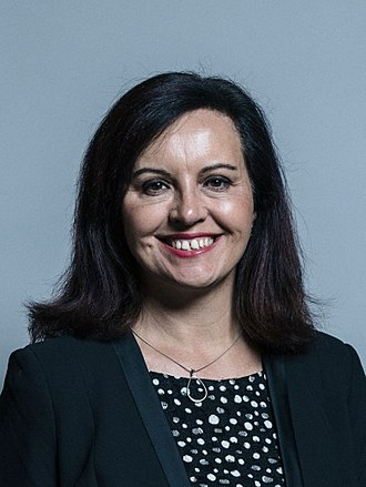 Labour Party (UK) deputy leadership election, 2015 - Image: Official portrait of Caroline Flint crop 2