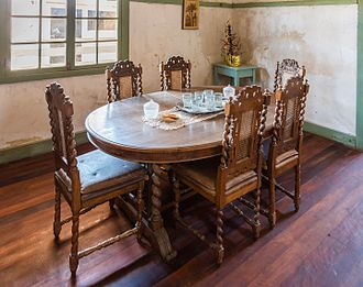 Humberstone and Santa Laura Saltpeter Works - Dining room.