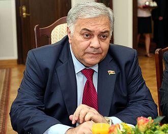 Ogtay Asadov - Image: Ogtay Asadov Senate of Poland 01