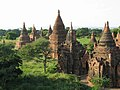 Old Bagan, Myanmar, Ancient Buddhist pagodas and temples in Bagan plains.jpg