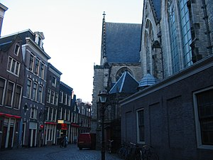 De Wallen - Prostitution behind the Oude Kerk