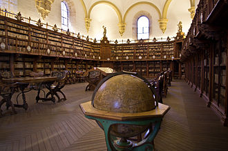 University of Salamanca - The old library of the University of Salamanca.