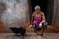 Old Woman of Bhaktapur - Kathmandu.jpg