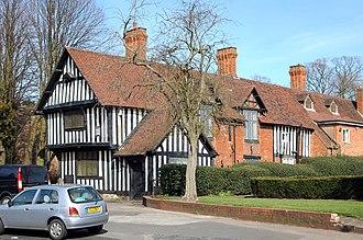Yardley, Birmingham - Old Yardley Grammar School within the conservation zone.