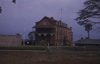 Fourah Bay College - The old building of Fourah Bay College