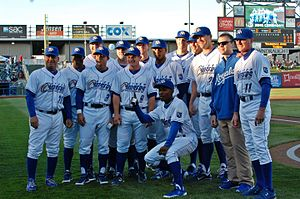 Omaha Storm Chasers - The 2011 PCL champion Storm Chasers