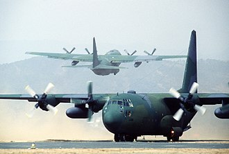Lockheed C-130 Hercules - Two C-130 Hercules in South Korea