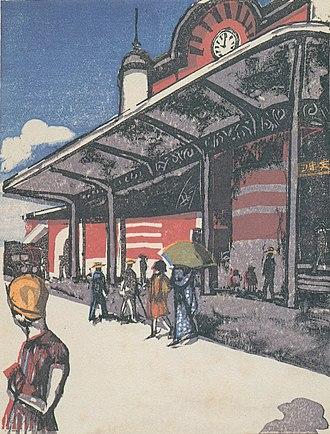 Kōshirō Onchi - Image: Onich Tokyo CS
