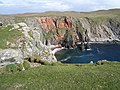 Opposite a red cliff - geograph.org.uk - 551072.jpg