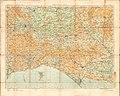 Ordnance Survey Half-inch Sheet 37 Weymouth Yeovil & Taunton, Published 1915.jpg